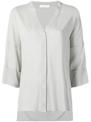 Fabiana Filippi v-neck oversized blouse