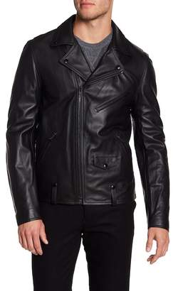 Vince Perfecto Calf Leather Jacket