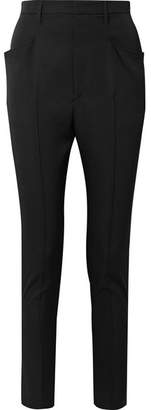 Isabel Marant Raynor Wool Tapered Pants - Black