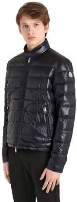 Moncler Acorus Lightweight Nylon Down Jacket