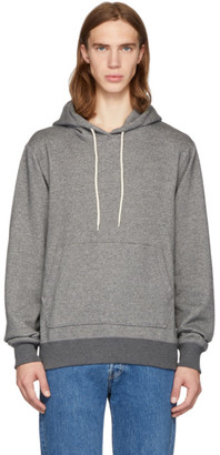 Naked & Famous Denim Denim SSNESE Exclusive Grey Cotton Hoodie