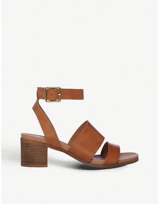 Steve Madden Alex open-toe leather heeled sandals
