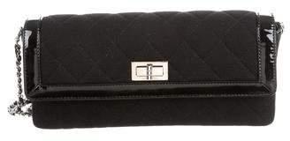 Chanel Linen Reissue E/W Flap Bag