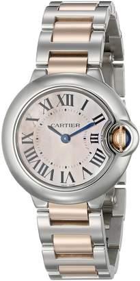 Cartier Women's W6920034 Ballon Bleu de Small Gold and Steel Watch