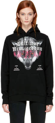 Marcelo Burlon County of Milan Black Huapi Hoodie