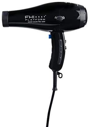 FHI Heat Brands Platform Nano Salon Pro 2000 Powerful Tourmaline Ceramic Hair Dryer