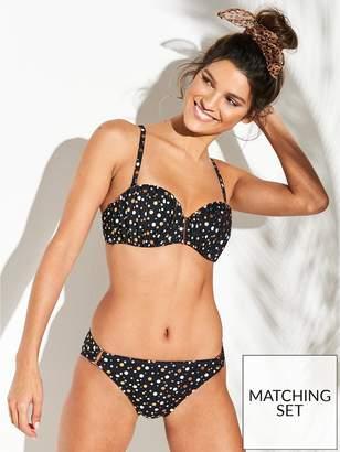 de64087908409 Dorina Cannes Bandeau Bikini Top - Black