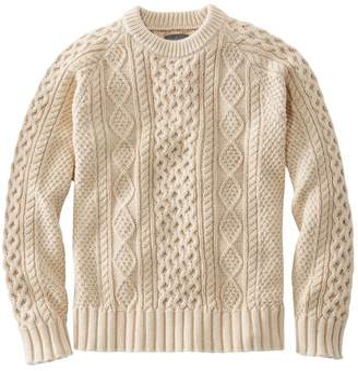 L.L. Bean L.L.Bean Men's Signature Cotton Fisherman Sweater