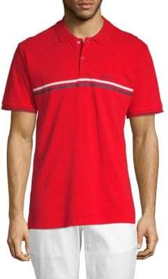 Ben Sherman Sport Chest Stripe Cotton Polo