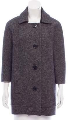 Chloé Tweed Short Coat