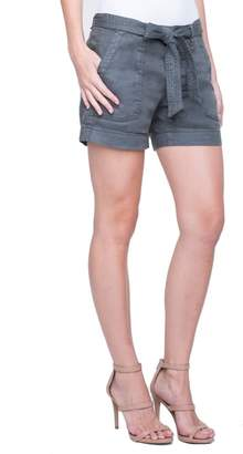 Liverpool Kinley Stretch Linen Shorts