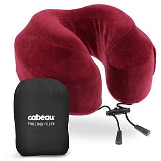 Cabeau Evolution Memory Foam Travel Pillow - Travel Made Better - The Best Neck Pillow with 360 Head & Neck Support
