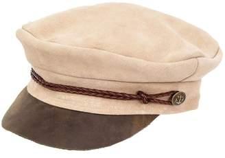 Peter Grimm Headwear Lila Suede Newsboy Cap