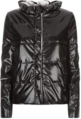 Emporio Armani Padded Crocodile Jacket
