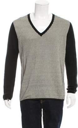 Ann Demeulemeester Striped Linen Sweater