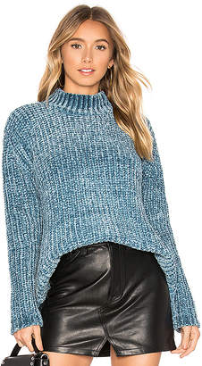 525 America Chenille Mock Neck Sweater