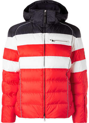 Bogner Tim Quilted Ripstop Hooded Down Ski Jacket