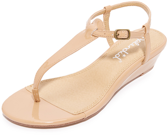 Splendid Justin Demi Wedge Sandals $78 thestylecure.com
