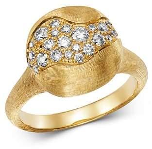 Marco Bicego 18K Yellow Gold Africa Constellation Pavé Diamond Ring