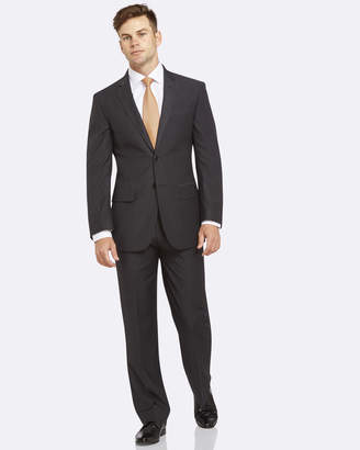 Livorno Slim Fit Charcoal Suit