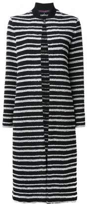 Martin Grant striped cardi-coat
