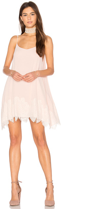 Show Me Your Mumu Lockett Lace Mini Dress $184 thestylecure.com