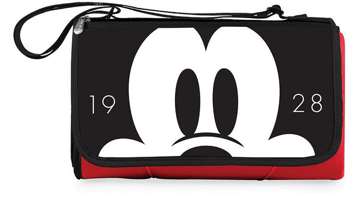 Picnic Time Mickey Mouse Button Eye Blanket Tote Outdoor Picnic Blanket