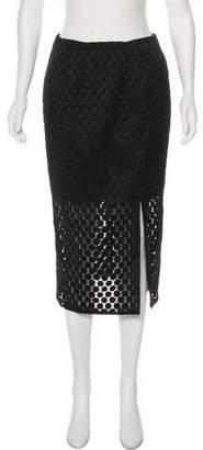 Nicholas Jacquard Knee-Length Skirt