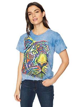 The Mountain Rainbow Tiger Adult Woman's T-Shirt