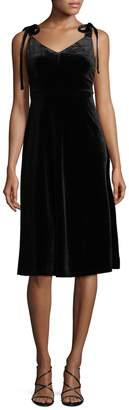 Allison Collection Women's Velvet Slip Dress