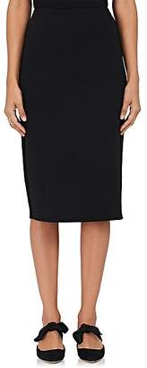 The Row Women's Scuba Tech-Fabric Pencil Skirt - Black