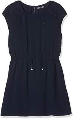Tommy Hilfiger Women's AME Lace Mix Dress S/S Boyfriend Jeans,(Manufacturer Size: 8)