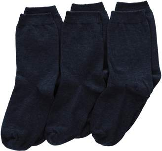 Jefferies Socks Big Boys' School Uniform Cotton Crew (Pack of 3)