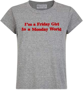 Wildfox Couture Friday Girl T-Shirt