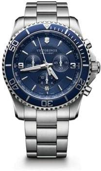 Victorinox Maverick Chrono Stainless Steel Watch