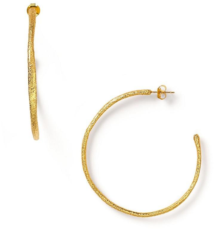 Alexis Bittar Textured Hoop Earrings