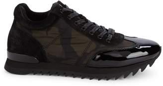 Karl Lagerfeld Paris Camo Platform Sneakers