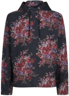 McQ Floral Hoodie