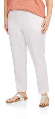 fb1a32960d9 at Walmart.com · Just My Size Women s Plus-Size 2-Pocket Pull-On Stretch  Woven Pants