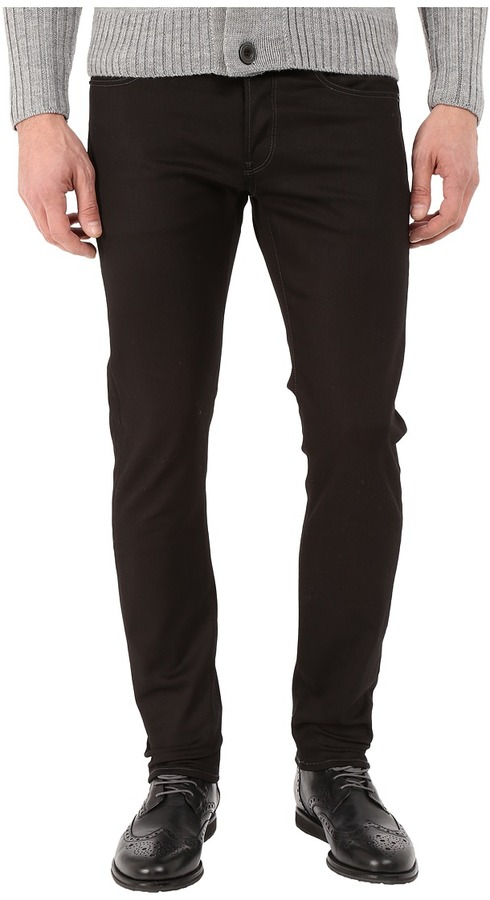 G Star G-Star 3301 Slim in Black Edington Stretch Denim Raw