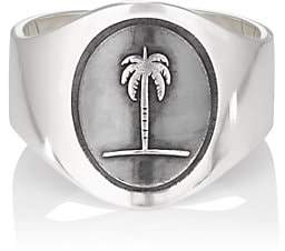 Miansai Men's Palm Tree Ring - Black