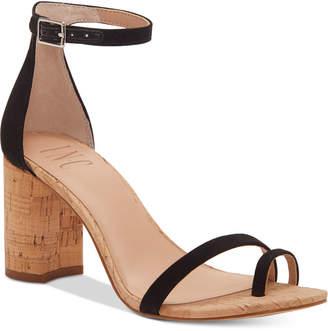 INC International Concepts I.n.c. Women Wanada Toe-Ring Block-Heel Sandals, Women Shoes