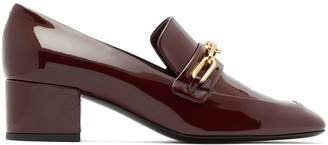 Burberry Chillcot patent-leather loafers