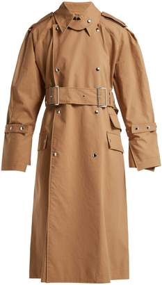 Acne Studios Cotton-gabardine trench coat
