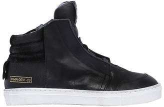 Momino Nappa Leather High Top Sneakers