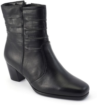 David Tate Daytime Leather Dress Boots - Pavilion
