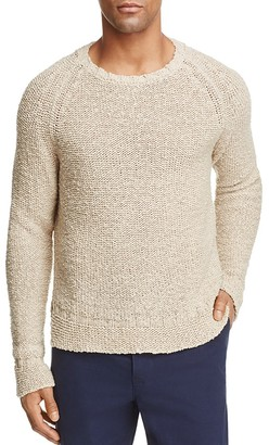 Eidos Natural Bagru Sweater $350 thestylecure.com