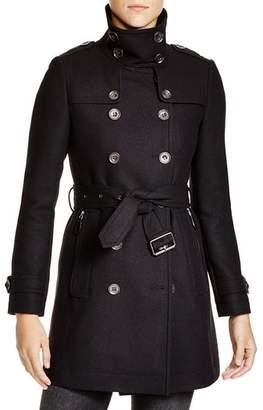 Burberry Daylesmoore Wool Blend Coat