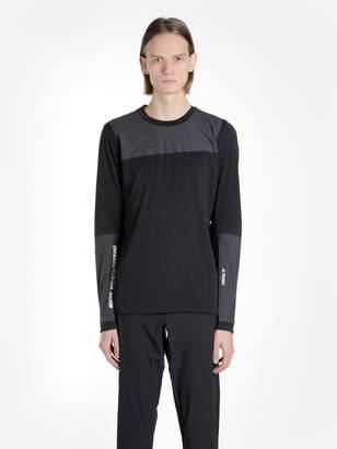 adidas TERREX X WHITE MOUNTAINEERING MEN'S BLACK BONDED SWEATER