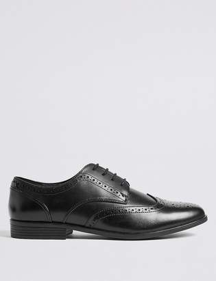 Marks and Spencer Lace-up Brogue Shoes